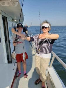 Full Day, Half Day and Night Trips Catching Porgy's and